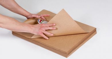giấy kraft khi in ấn bao bì giấy