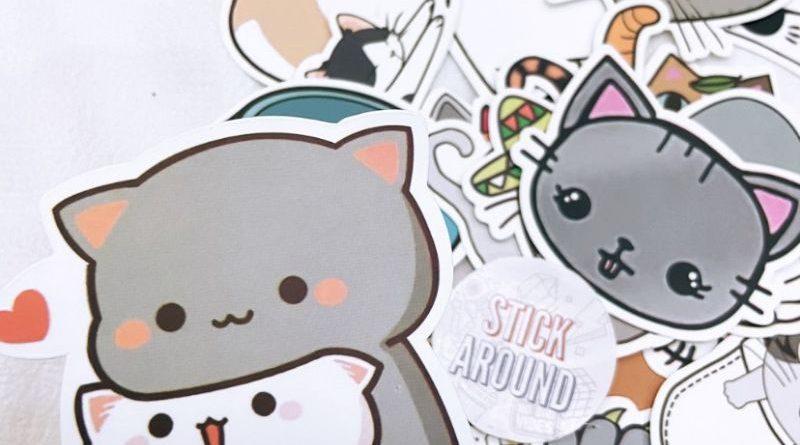 in logo sticker dán
