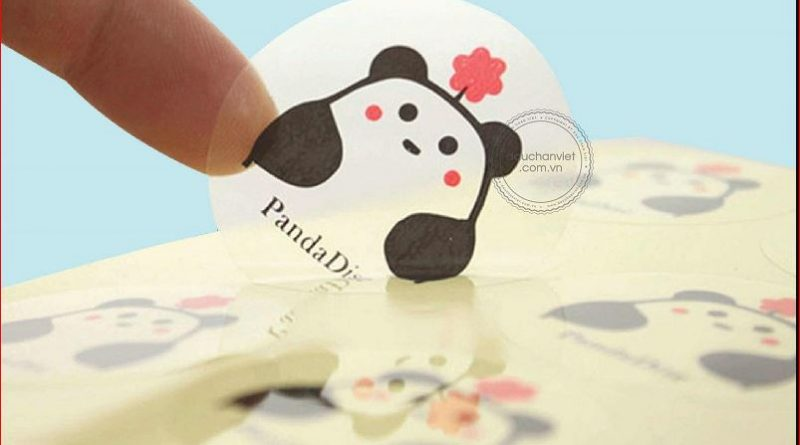 lợi ích khi in sticker trong suốt